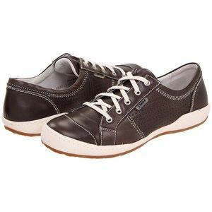 Josef Seibel Caspian brown Leather Sneaker SZ 37